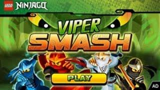 getlinkyoutube.com-LEGO Ninjago Viper Smash - Cartoon Network Games