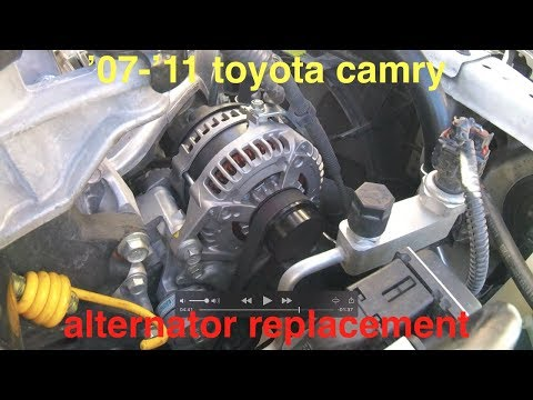 Alternator NOT charging (BATTERY light ON) Toyota Camry 2.5L? Fix It Angel