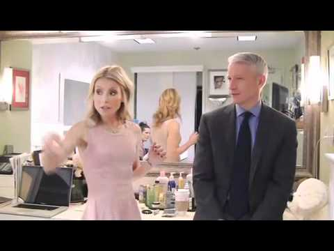 Kelly Ripa & Anderson Cooper - Kelly's Fashion Finder