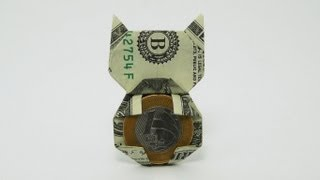getlinkyoutube.com-Origami Money Cat (Jo Nakashima)
