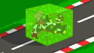 getlinkyoutube.com-EPIC MINEQUEST vs MARIO KART   Epic Mine Kart by Sam Green Media