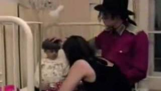 Michael Jackson - Visiting Hospitals
