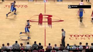 getlinkyoutube.com-NBA 2K16: Warriors vs. Rockets (PS4)