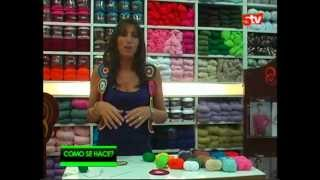 getlinkyoutube.com-Chaleco Multicilor por Mariela Alasia