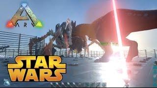 ARK 方舟 Star Wars 星際大戰 模組 | 育母蜘蛛來試槍