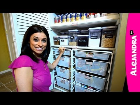 Most Organized Home in America (Part 1) by Professional Organizer & Expert Alejandra Costello