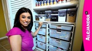 getlinkyoutube.com-Most Organized Home in America (Part 1) by Professional Organizer & Expert Alejandra Costello