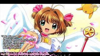 "getlinkyoutube.com-[TYER] English Card Captor Sakura OP3 - ""Platinum"" [feat.Spiral]"