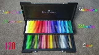 getlinkyoutube.com-Unboxing:Faber-Castell 120 Polychromos in Wenge-Stained Wooden Case