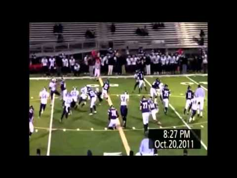 Zack Martin Patriot Football Highlights