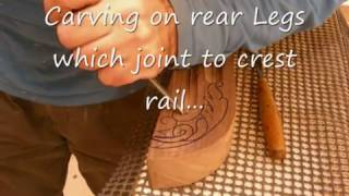 getlinkyoutube.com-WOODCARVING ON FRENCH STYLE FURNITURE 2