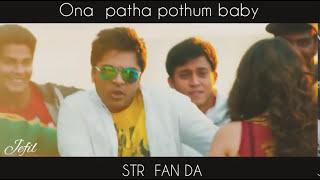 STR simbu / vaalu movie / song scene /WhatsApp Status Video #