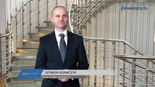 Alumetal S.A., Szymon Adamczyk - Prezes Zarządu, #118 ZE SPÓŁEK