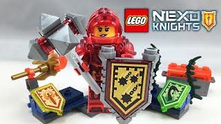 getlinkyoutube.com-LEGO Nexo Knights Ultimate Macy set review! 70331