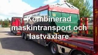 getlinkyoutube.com-Rullflakshantering på en kombinerad maskintransport och lastväxlare