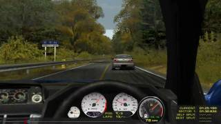 getlinkyoutube.com-First Time Mont Akina - rFactor - Skyline GTR34