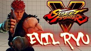 getlinkyoutube.com-Street Fighter V PC - EVIL RYU