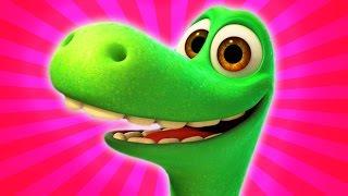 getlinkyoutube.com-❤ The Good Dinosaur ❤ Toys Brinquedos ❤ Bom Dinossauro Pixar Surprise Eggs Movies Trailer 3/14