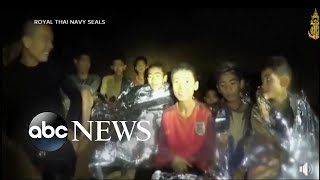 Missing soccer team found alive in a cave in Thailand after 10 days width=