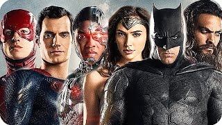 JUSTICE LEAGUE Movie Preview: All Characters Explained (2017)