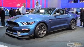 getlinkyoutube.com-2016 Ford Mustang Shelby GT350R - 2015 Detroit Auto Show - Fast Lane Daily