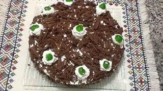 getlinkyoutube.com-حلوى الفوري نوار بطريقة سهلة و بسيطة من المطبخ المغربي مع ربيعة La Forêt Noire
