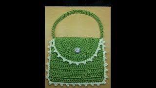getlinkyoutube.com-CROCHET How to #Crochet #handbag #purse Easy Beginner  TUTORIAL #54