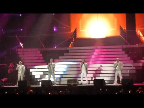 Westlife; You Raise Me Up. 15th May 2012, Liverpool. HD.