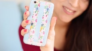 getlinkyoutube.com-DIY FUNDAS INTERCAMBIABLES PARA TU TELEFONO | Fashion Riot