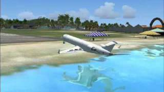 FSX demo best crash ever