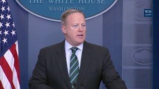 Press Briefing with Press Secretary Sean Spicer