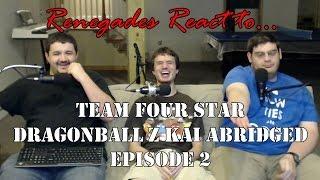 getlinkyoutube.com-Renegades React to... Dragonball Z Kai Abridged Episode 2