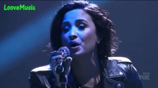 getlinkyoutube.com-Demi Lovato - Confident/Stone Cold (Live American Idol)