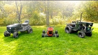 getlinkyoutube.com-3 Custom Lawn Mowers