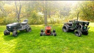 3 Custom Lawn Mowers