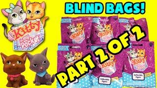 getlinkyoutube.com-★Kitty In My Pocket Blind Bags Part 2★ Series 1 Opening Surprise Pack Grab Toys Sorpresas - KTR