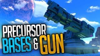 getlinkyoutube.com-Subnautica - PRECURSOR BASES & PRECURSOR GUN   Subnautica Early Access Gameplay