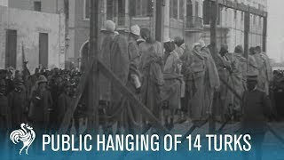 getlinkyoutube.com-Public Hanging Of 14 Turks Aka Italian / Turkish Campaign (1911)