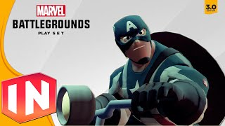 getlinkyoutube.com-Disney Infinity 3.0 - ALL Character Intros In Marvel Battlegrounds Showcase
