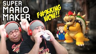 getlinkyoutube.com-I DID THE F#%KING IMPOSSIBLE!! [SUPER MARIO MAKER] [#74]