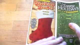 getlinkyoutube.com-Texas Lottery: Holiday Game Book! Thanks to Johnny!