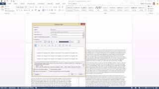getlinkyoutube.com-เทคนิคการใส่เลขหน้าใน Word ที่สามารถแยกส่วนเลขหน้าของสารบัญและตัวเนื้อหา