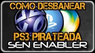 getlinkyoutube.com-COMO DESBANEAR PS3 PIRATA  | SEN ENABLER 4.80 CEX/DEX  | CONSOLE ID |