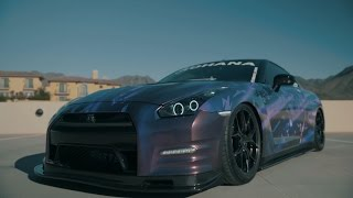 getlinkyoutube.com-Mermaid GT-R R35 | Armytrix Exhaust | Rohana Wheels | Fokal Pointe Produtions