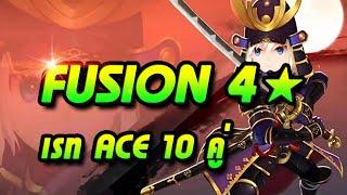getlinkyoutube.com-Seven Knight (7K) Fusion 4★ 10คู่ (เรท Ace)