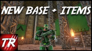 getlinkyoutube.com-ARK Survival Evolved Gameplay #18 Another New Base!? Trackers, Assault Rifles & RPGs