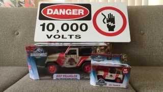 getlinkyoutube.com-Jurassic World Jada RC Jurassic Park Jeep Wrangler Vehicle First Look!