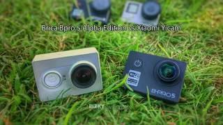 getlinkyoutube.com-Brica Bpro 5 Alpha Edition VS Xiaomi Yicam