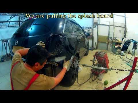 Опель Антара ремонт в Нижнем Новгороде. Opel Antara Auto body repair.