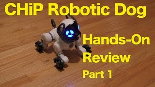 getlinkyoutube.com-CHiP Interactive Robot Pet Dog From WowWee, Hands-On Review, Part 1